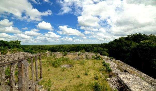 Село майя Coba