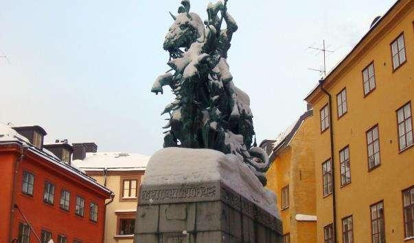 Памятник Святий Георгій і Дракон