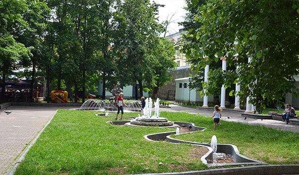 Сад Акваріум