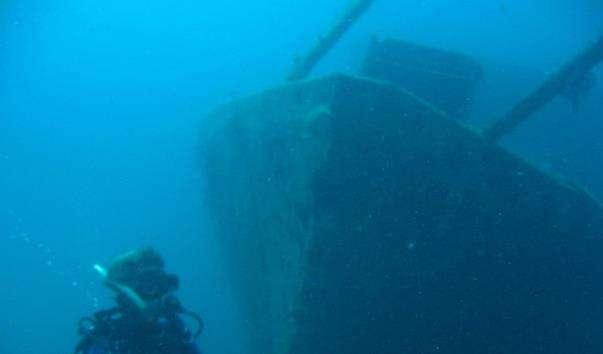 Затонулий корабель «Сюзанна»