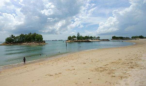 Пляж «Силоси» на острові Сентоза