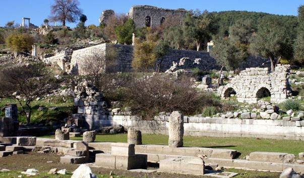 Античне місто Каунос