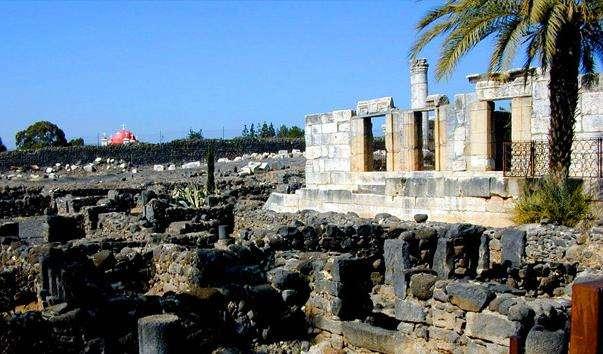 Стародавнє місто Капернаум