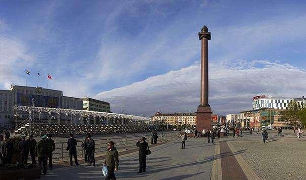 Площа Перемоги в Калінінграді