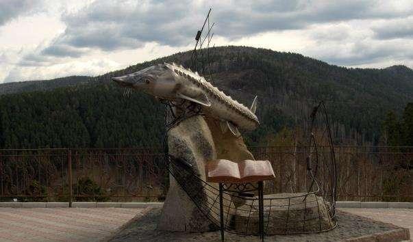 Памятник Цар-риба