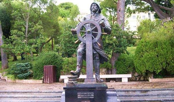 Памятник Альберту I в садах святого Мартіна