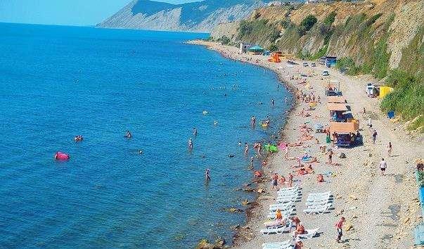Пляж Високий берег