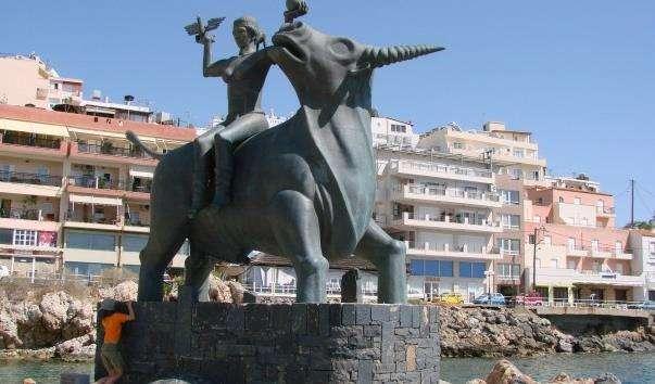 Скульптура Викрадення Європи