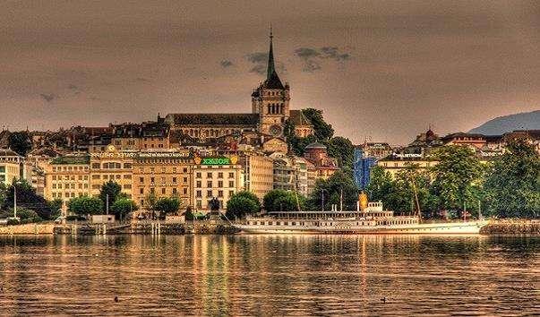 Старе місто Женеви