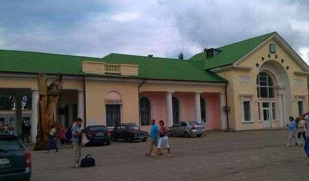 Залізничний вокзал Феодосії