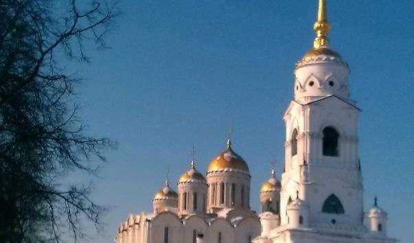 Дзвіниця Успенського собору у Володимирі