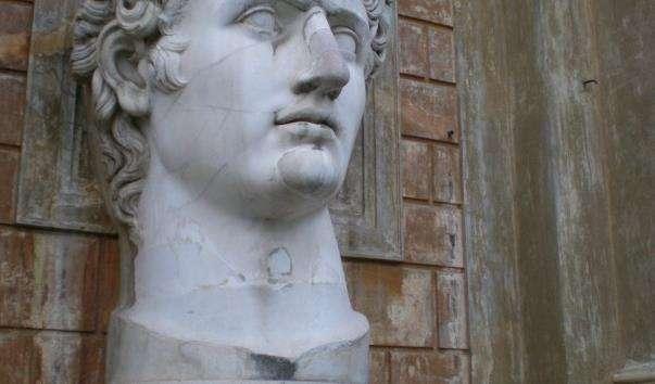 Скульптура «Голова імператора Августа»